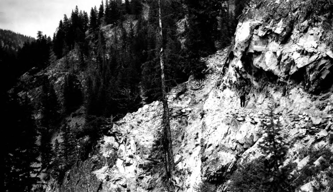 item thumbnail for Man on ledge on Marsh Creek Trail