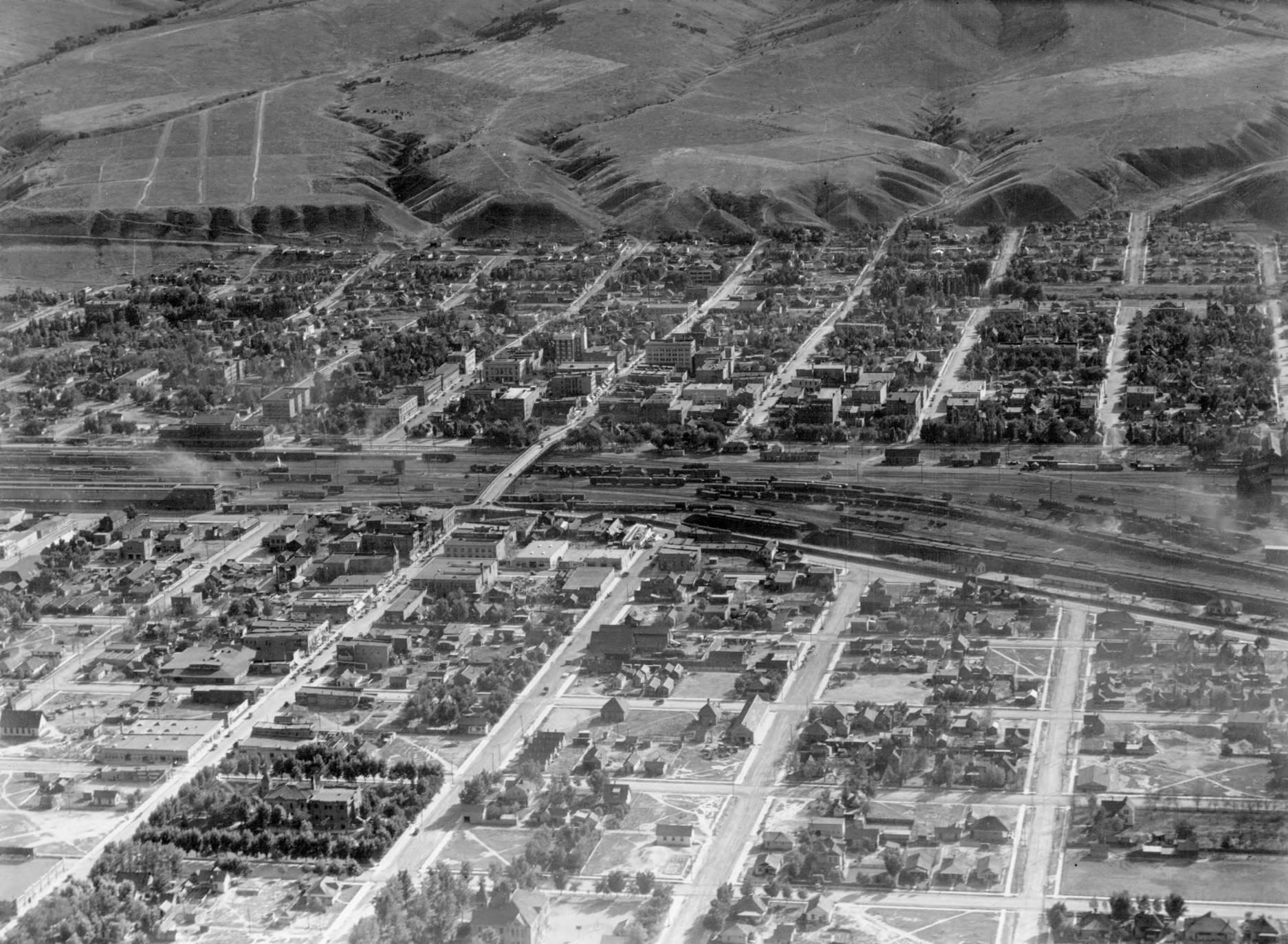 item thumbnail for Train depot in Pocatello