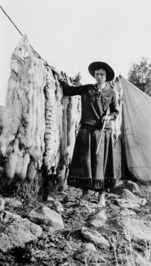 item thumbnail for Mrs. Frank (Ada) Tingley - predatory animal huntress