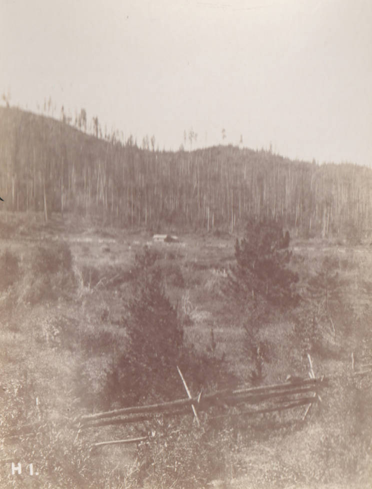 item thumbnail for Meadow and fencing between Priest River and Priest Lake