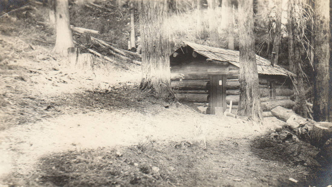 item thumbnail for May Agnes Russell cabin and homestead, possible false homestead claim, Marble Creek