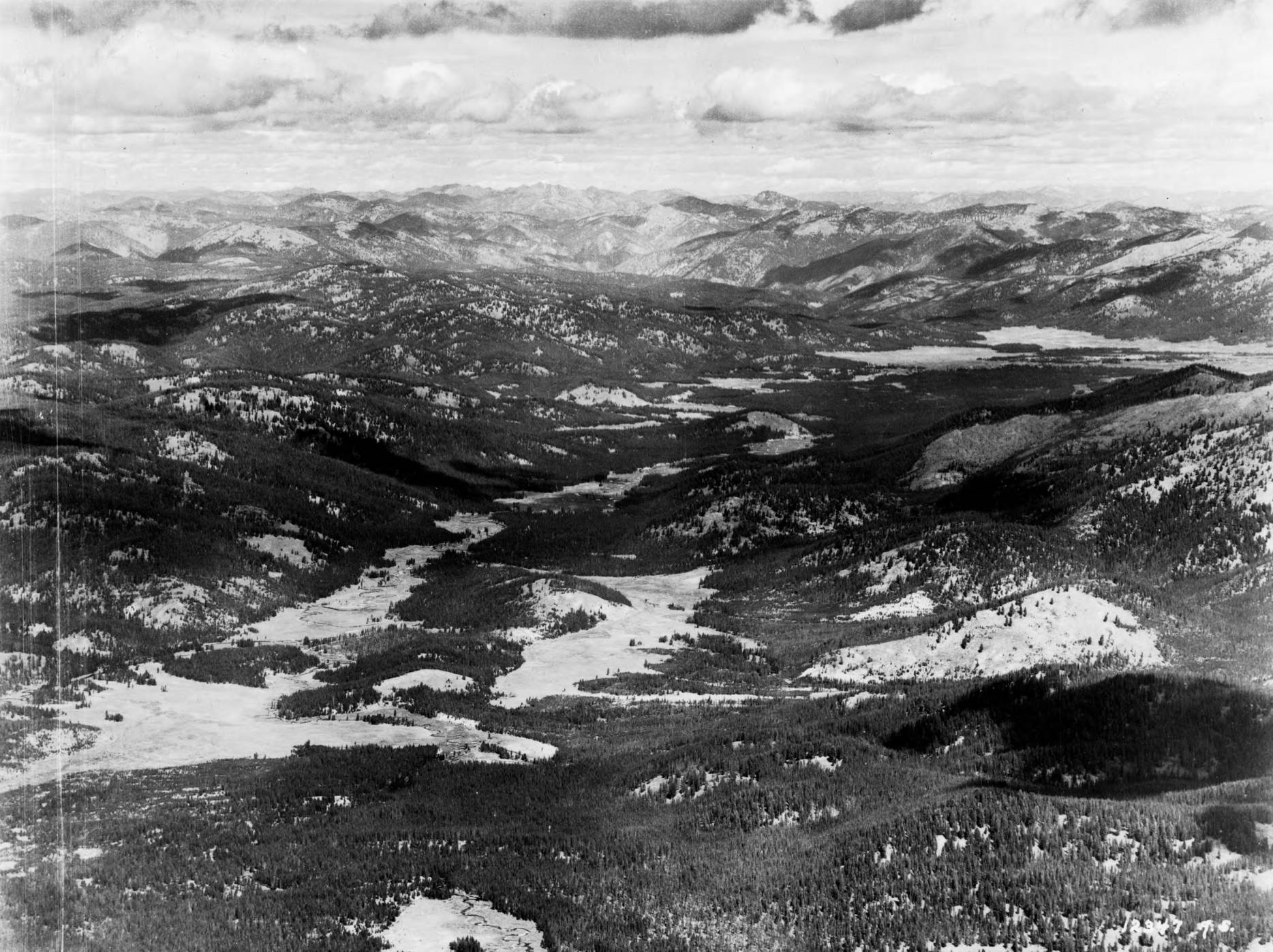 item thumbnail for Bear Valley, Idaho, aerial