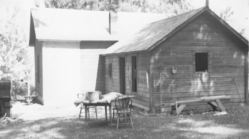 item thumbnail for Conley Seth House (rear), after repairs