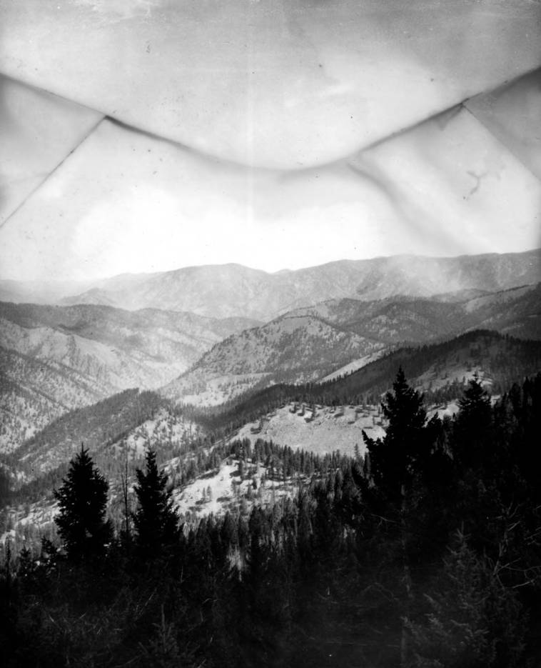 item thumbnail for McCalley and Lower Chamberlin Creeks from Root Knob Lookout