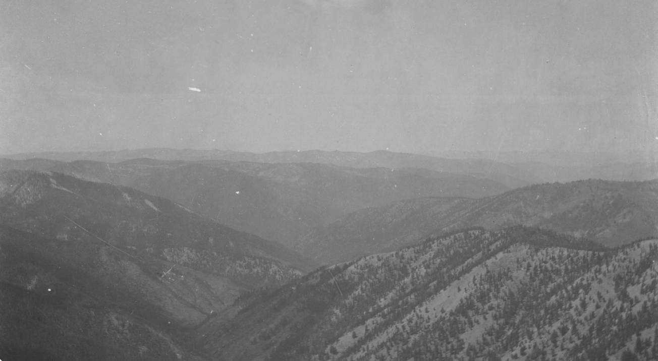 item thumbnail for Sugar Creek and canyon of East Fork of South Fork of Salmon River