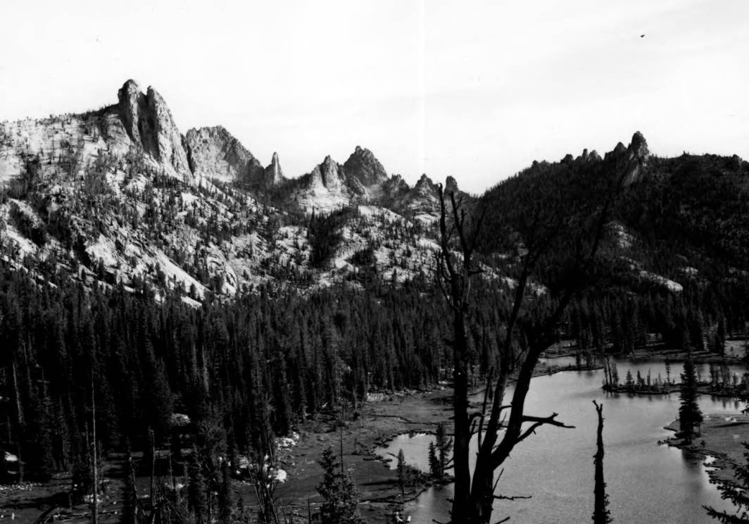 item thumbnail for Welcome Lake, Idaho Wilderness