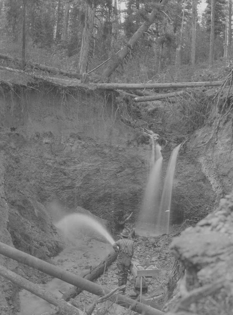 item thumbnail for Placer mining on Gold Fork