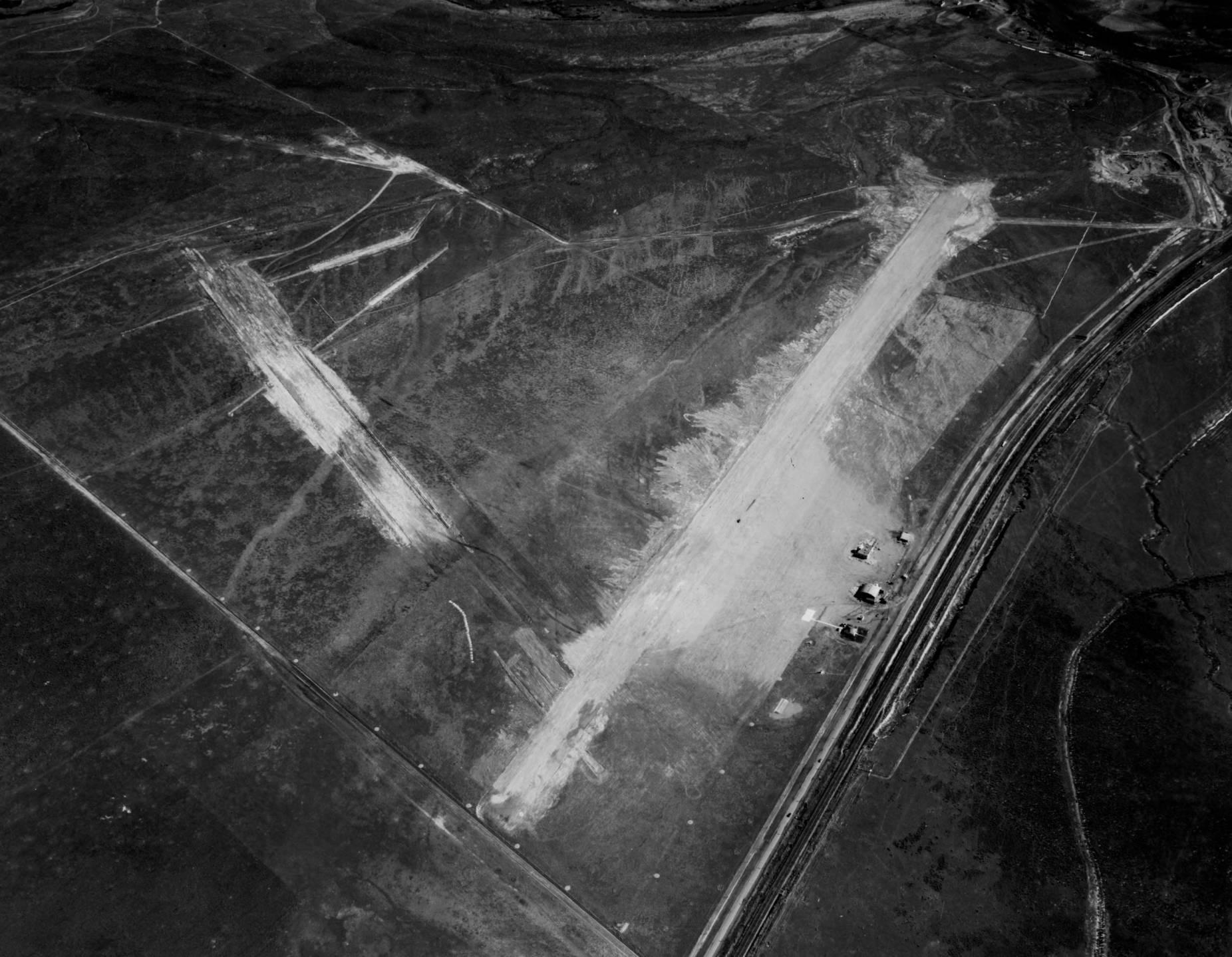 item thumbnail for Pocatello Municipal Airport or McDougall Field, Pocatello, aerial