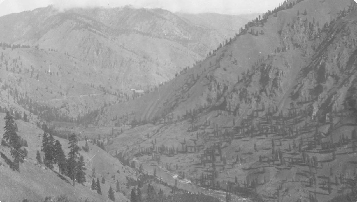 item thumbnail for Junction of South Fork with main Salmon River, grazing lands
