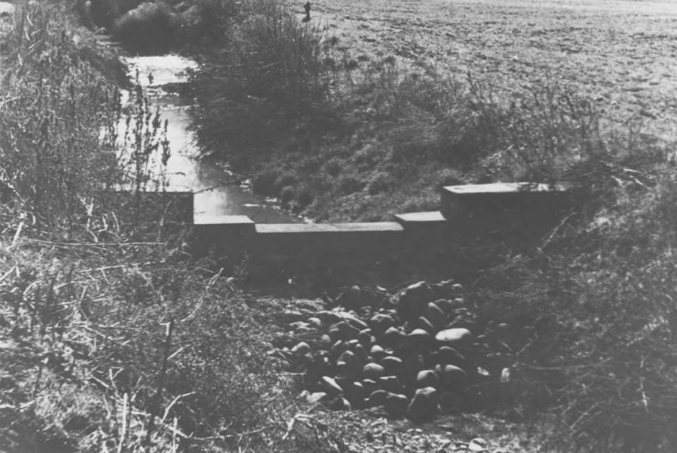 item thumbnail for Dammed irrigation ditch, Lapwai