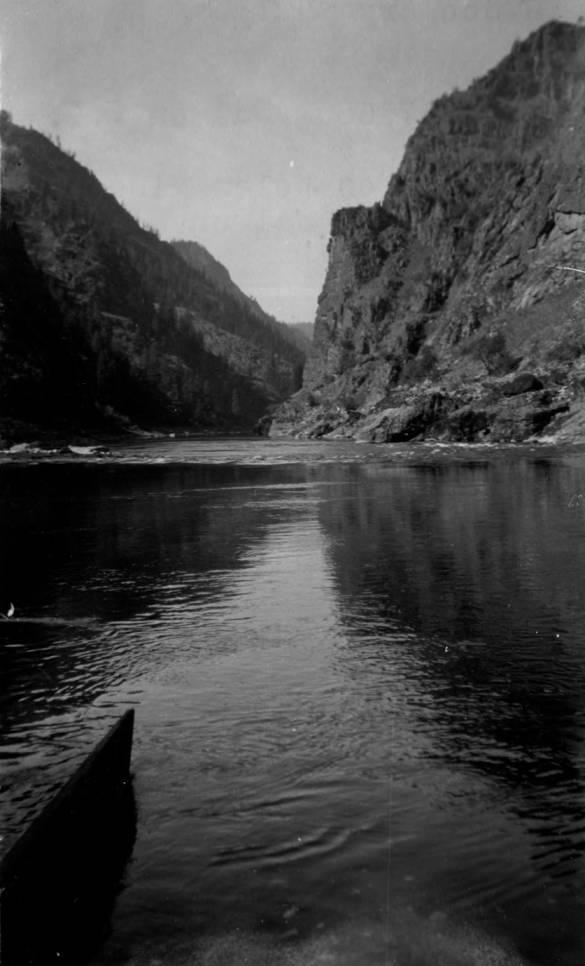 item thumbnail for Slopes below Pine Creek, Salmon River