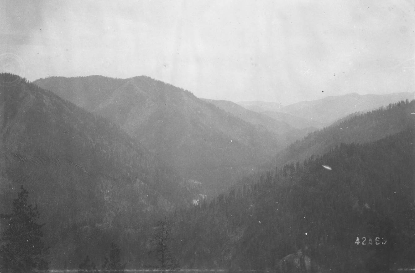 item thumbnail for Canyon of South Fork of Salmon River, East Fork on left