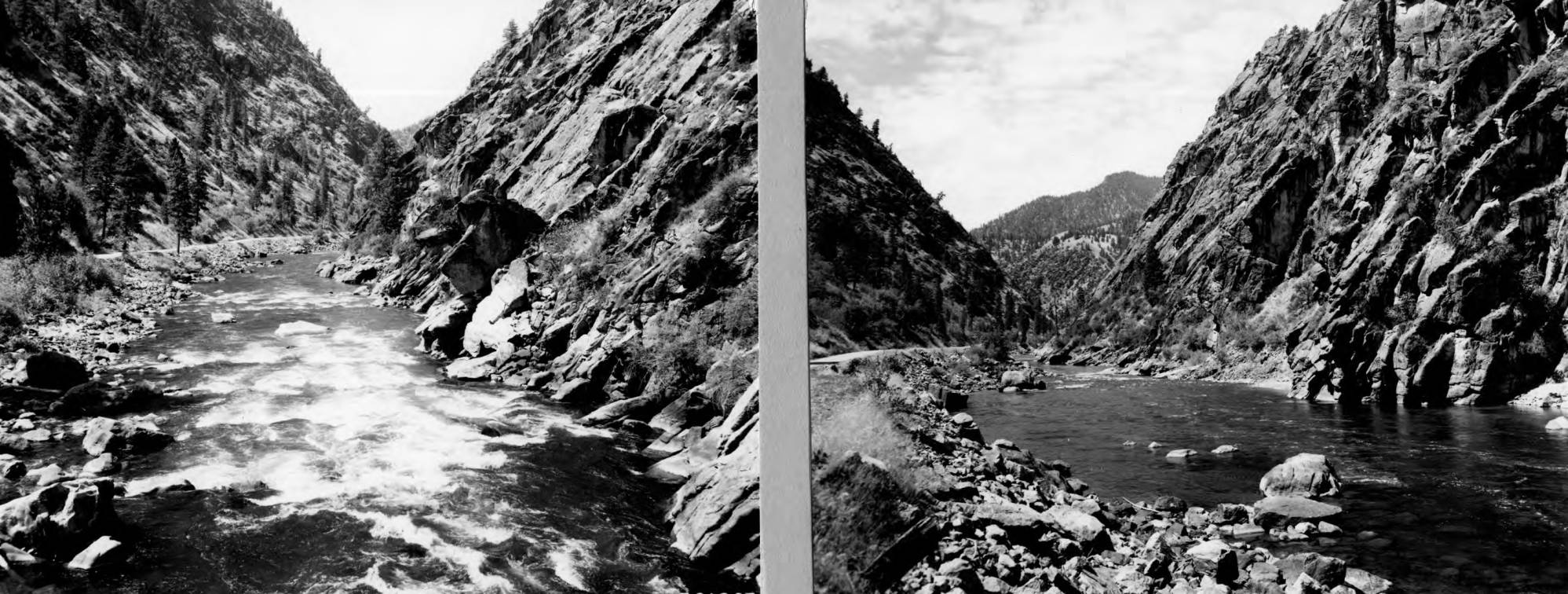 item thumbnail for Rapids on Salmon River, one mile west of Shoup