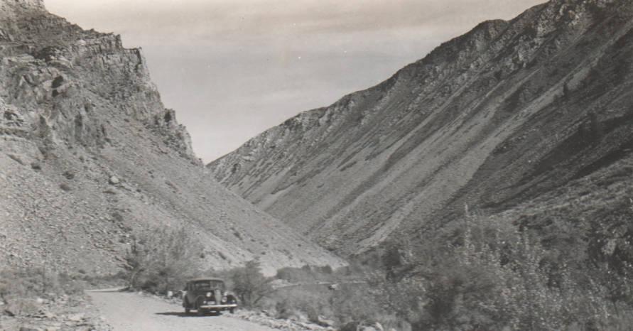 item thumbnail for Challis Dam site, reconnaissance