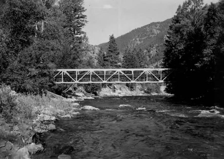 item thumbnail for Trail bridge at Taylor Ranch on Big Creek