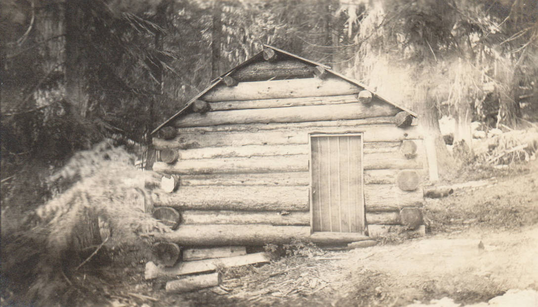 item thumbnail for Joseph Russell cabin and homestead, possible false homestead claim, Marble Creek