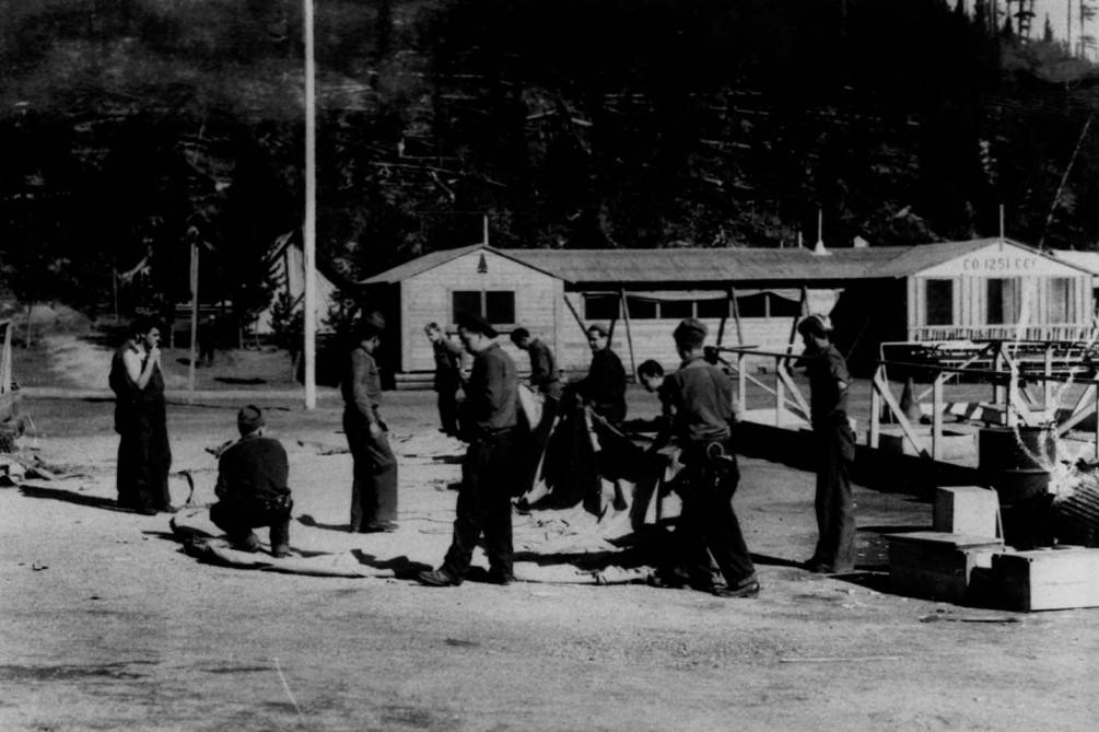 item thumbnail for Dismantling Packers Meadow CCC Camp