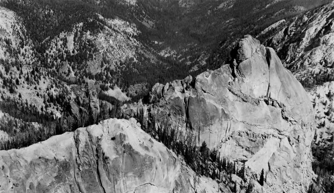 item thumbnail for Ridge and peak in Sawtooth Mountains