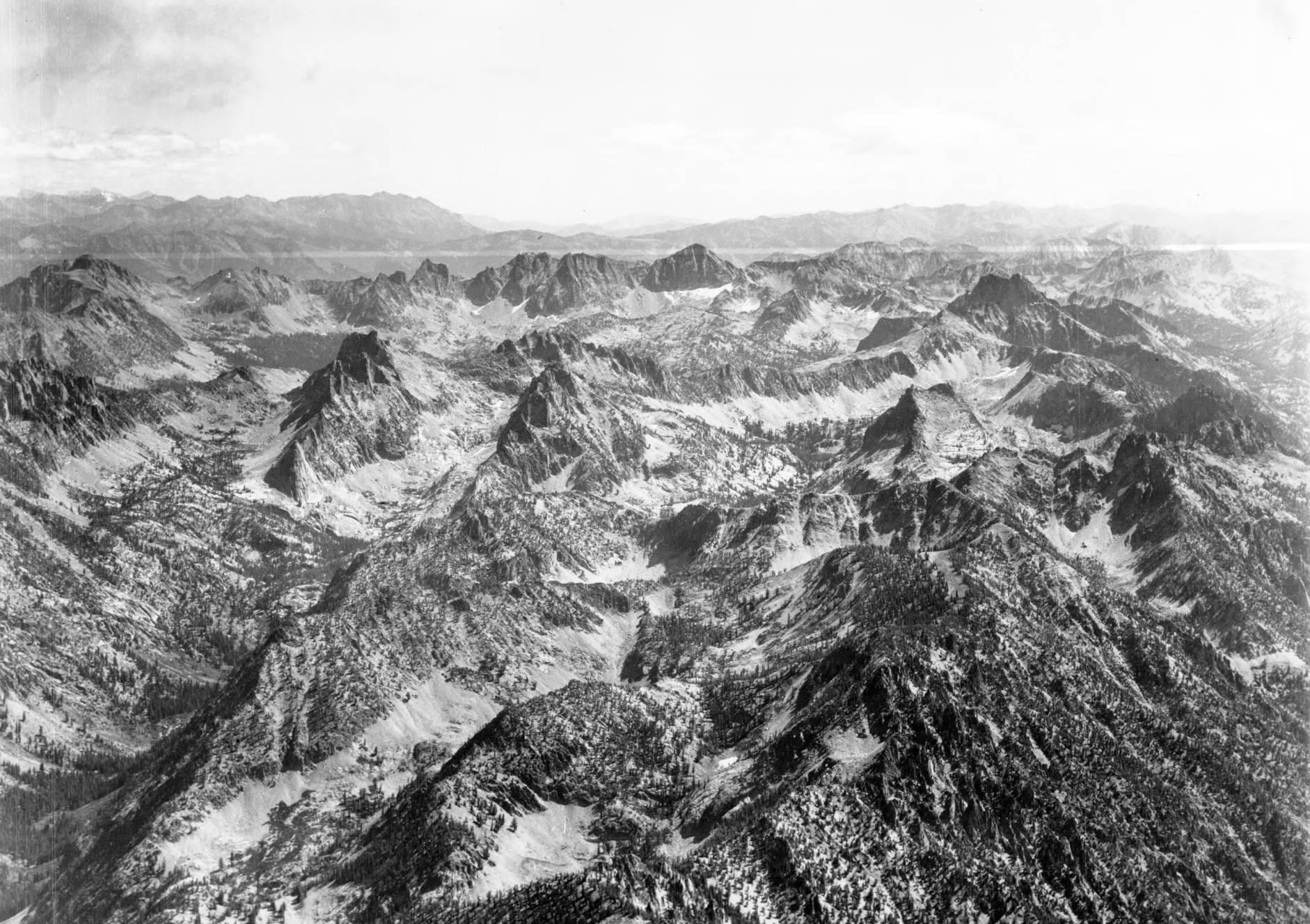 item thumbnail for Goat Creek, Mount Cramer, and surrounding peaks
