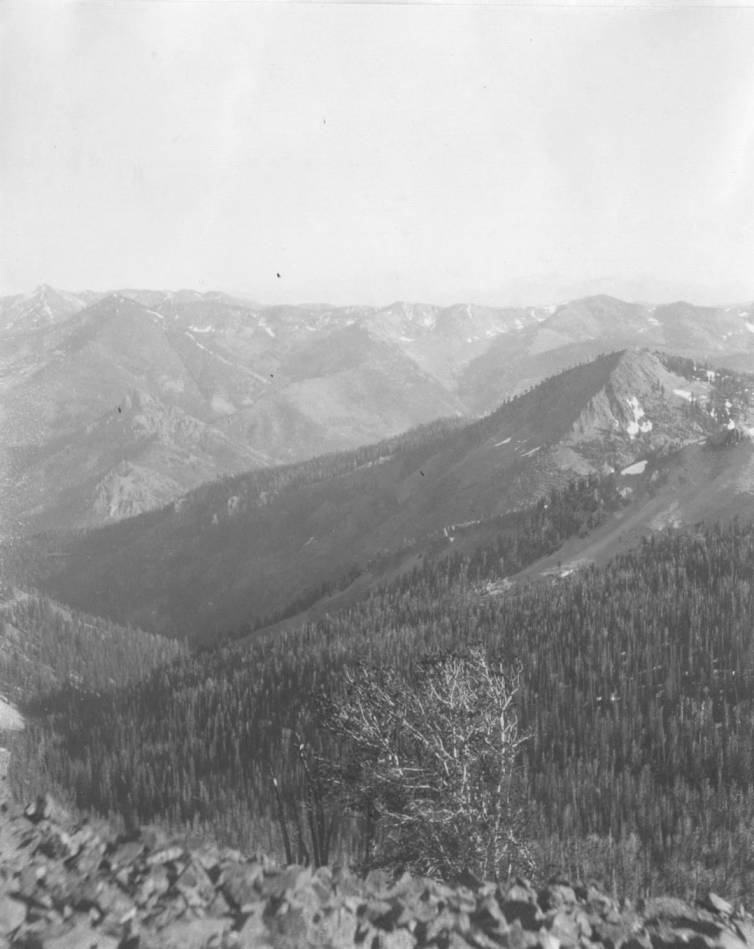 item thumbnail for Looking toward Lost River Mountains from Grants Peak