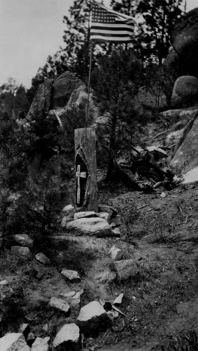 item thumbnail for Grave of Nez Perce War with American Flag