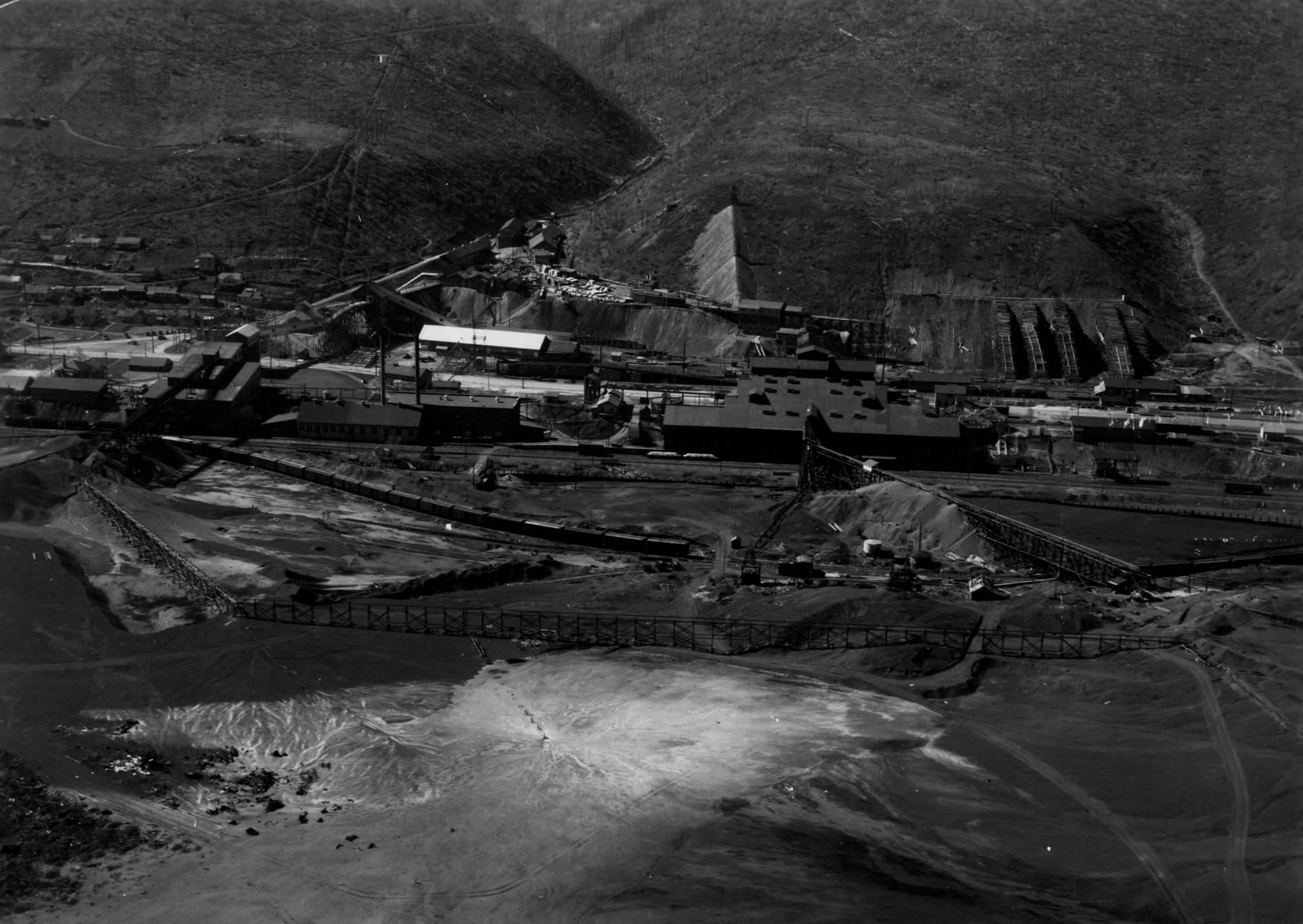 item thumbnail for Bunker Hill Mill, Kellogg, aerial