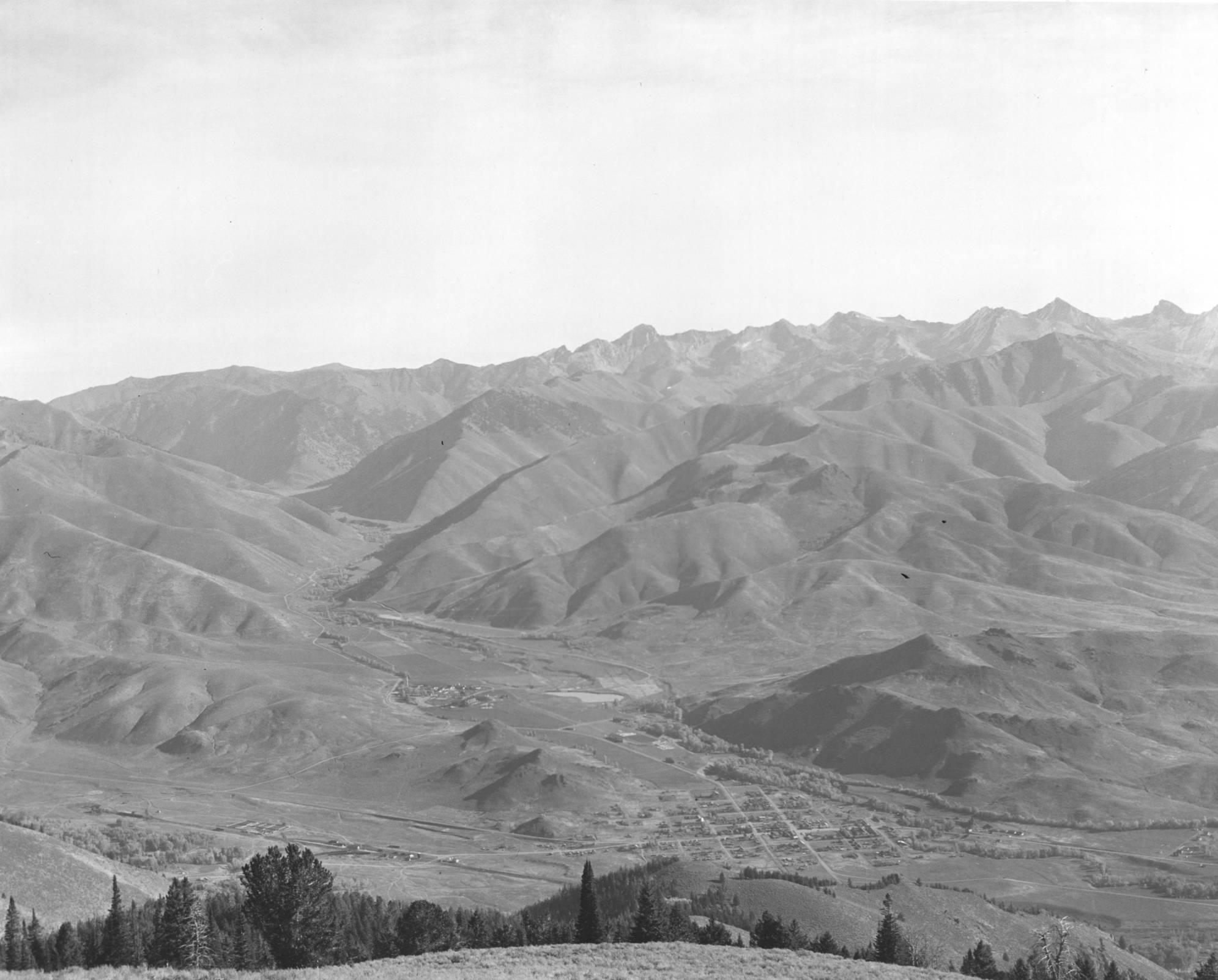 item thumbnail for View of Ketchum, Idaho
