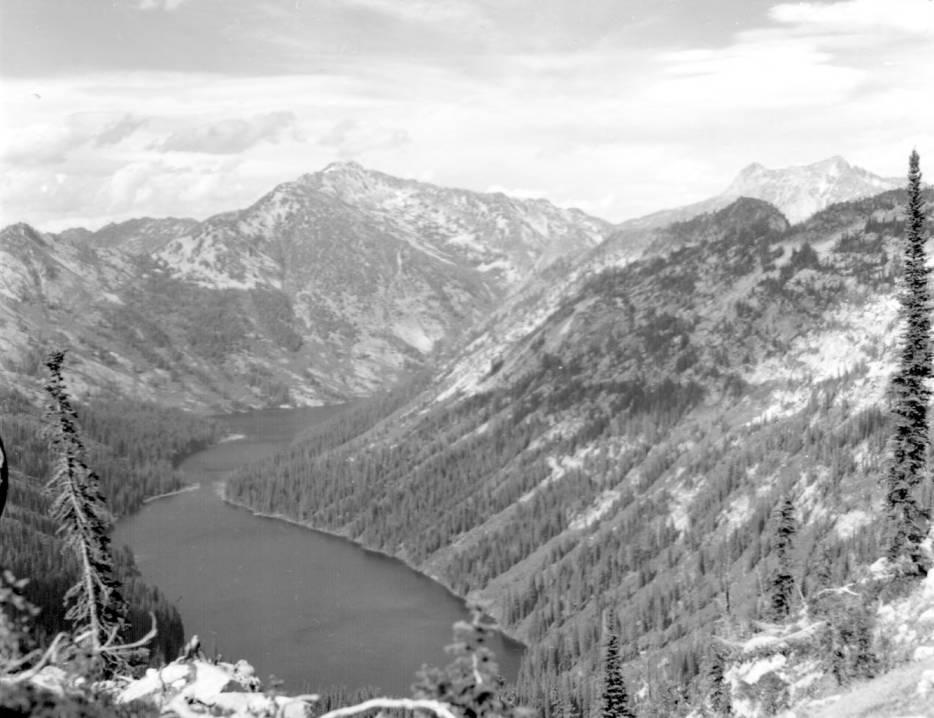 item thumbnail for Big Creek Lake from Pack Box Pass