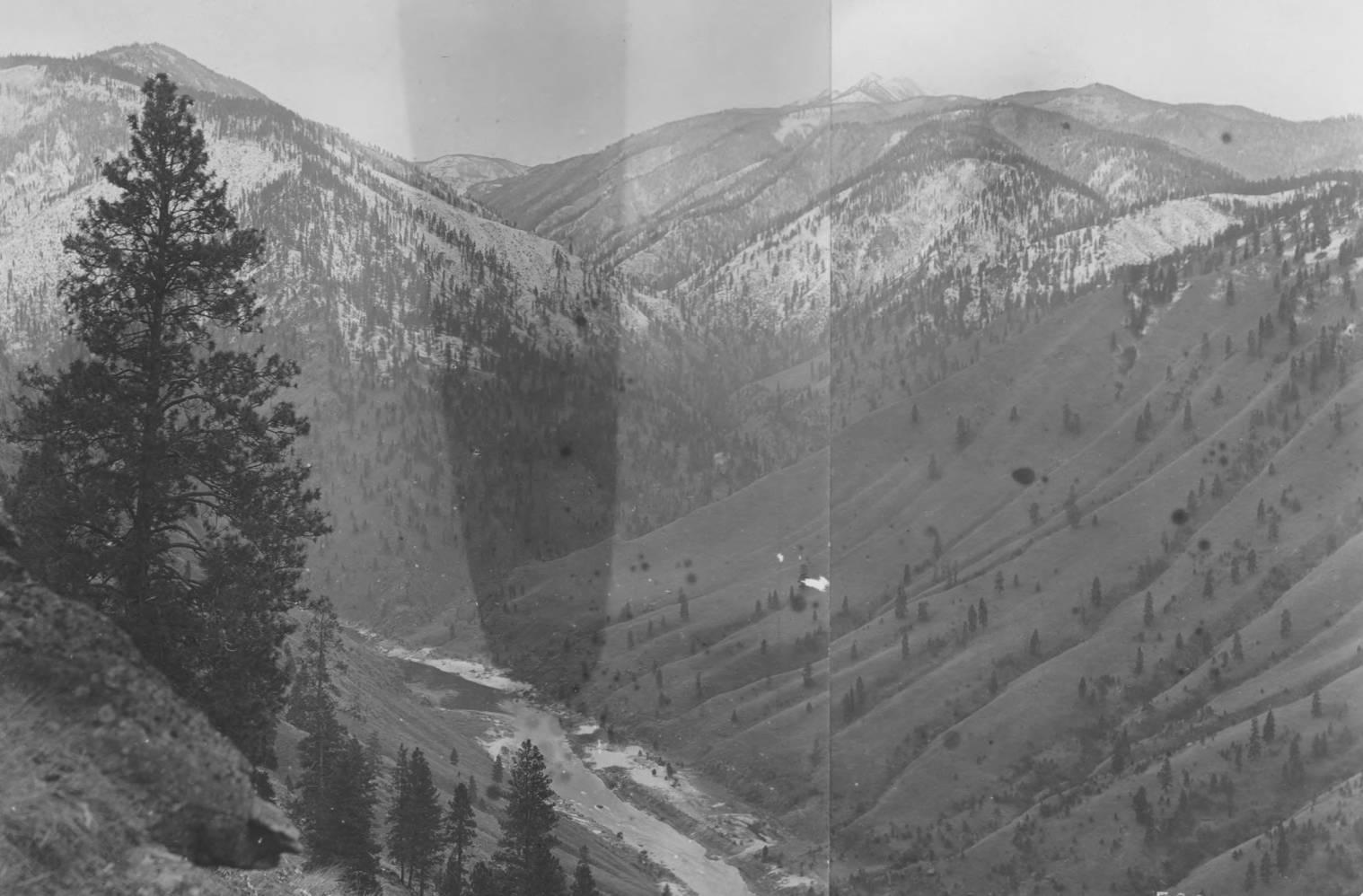 item thumbnail for Salmon River Canyon and Lake Creek