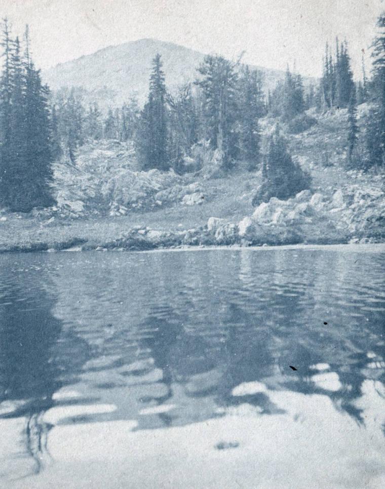 item thumbnail for Buffalo Lake under Buffalo Hump