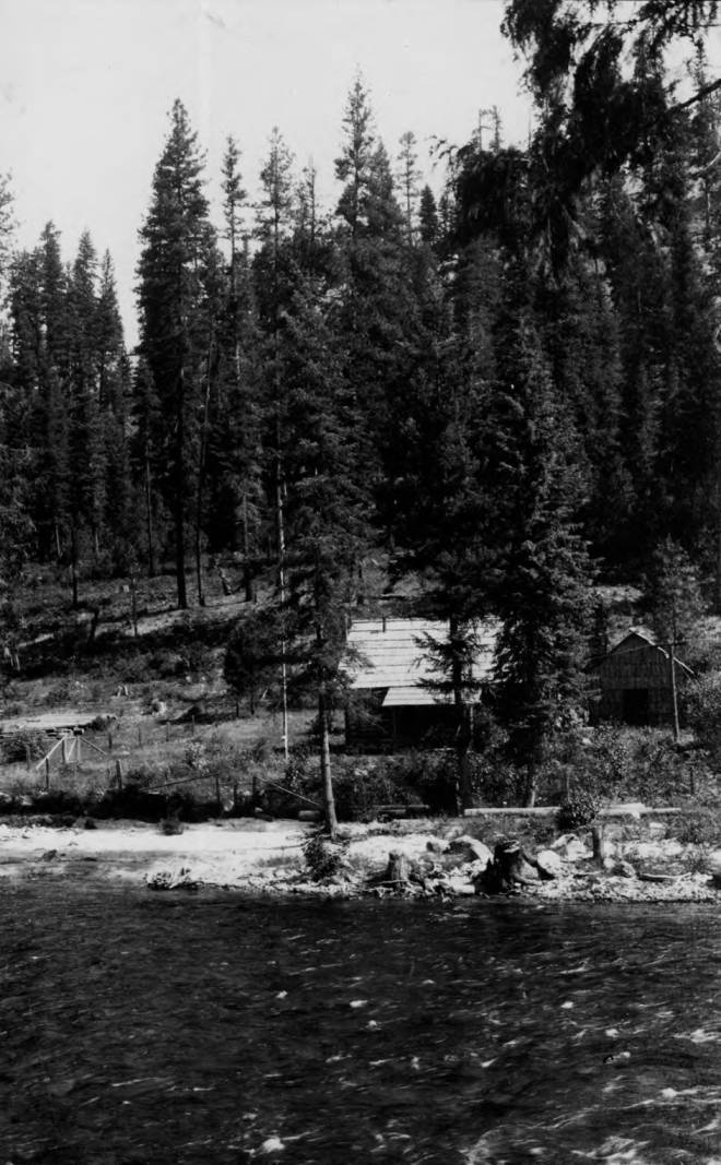 item thumbnail for Bear Creek Ranger Station and Trail Fork of Bear Creek, Selway National Forest