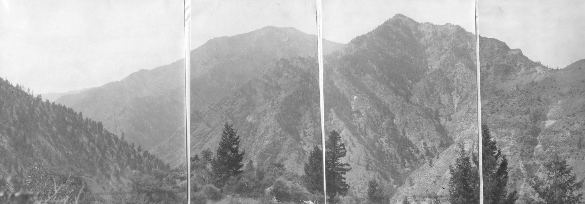 item thumbnail for Salmon River Mountains and Middle Fork of Salmon canyon 1