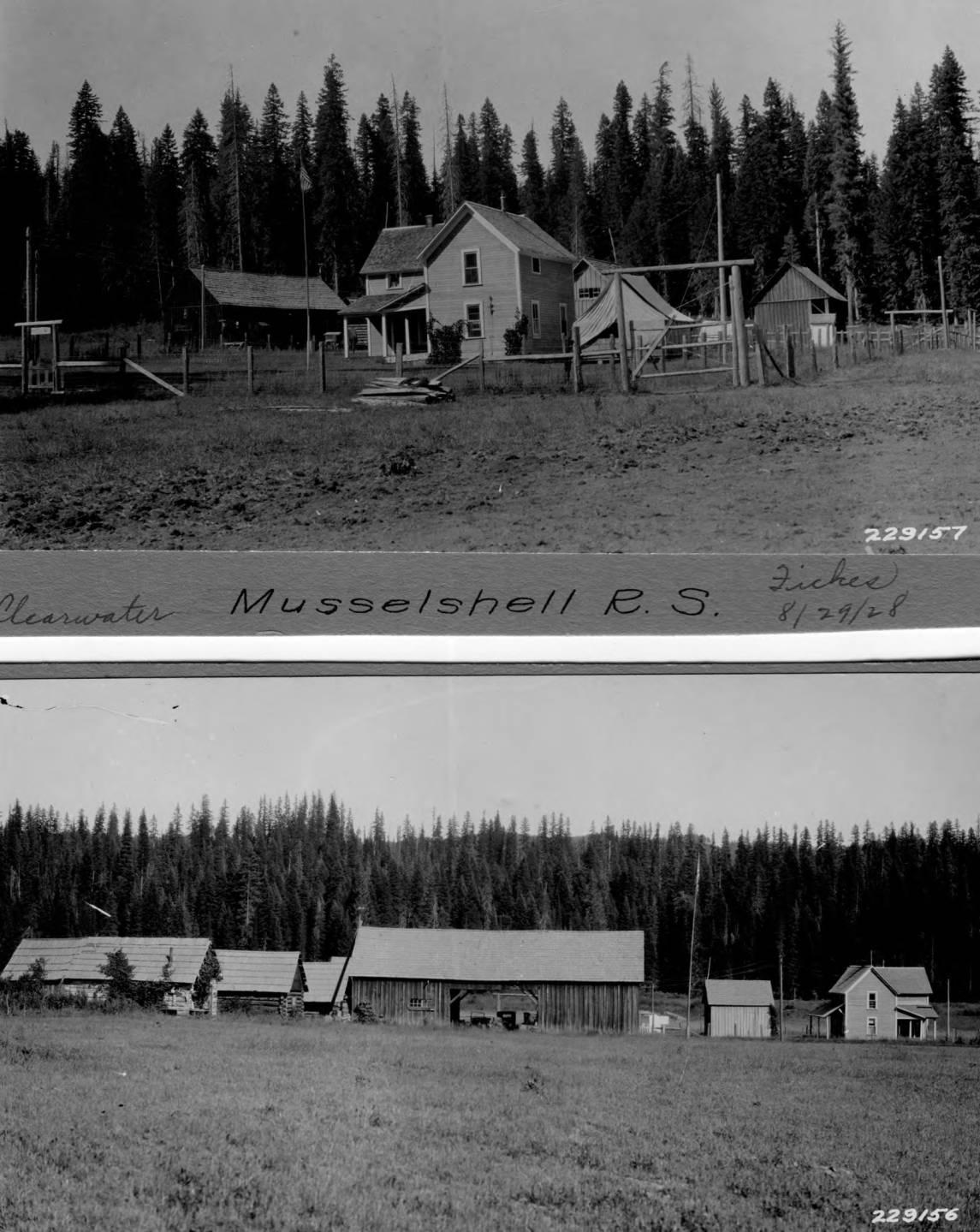 item thumbnail for Musselshell Ranger Station, buildings
