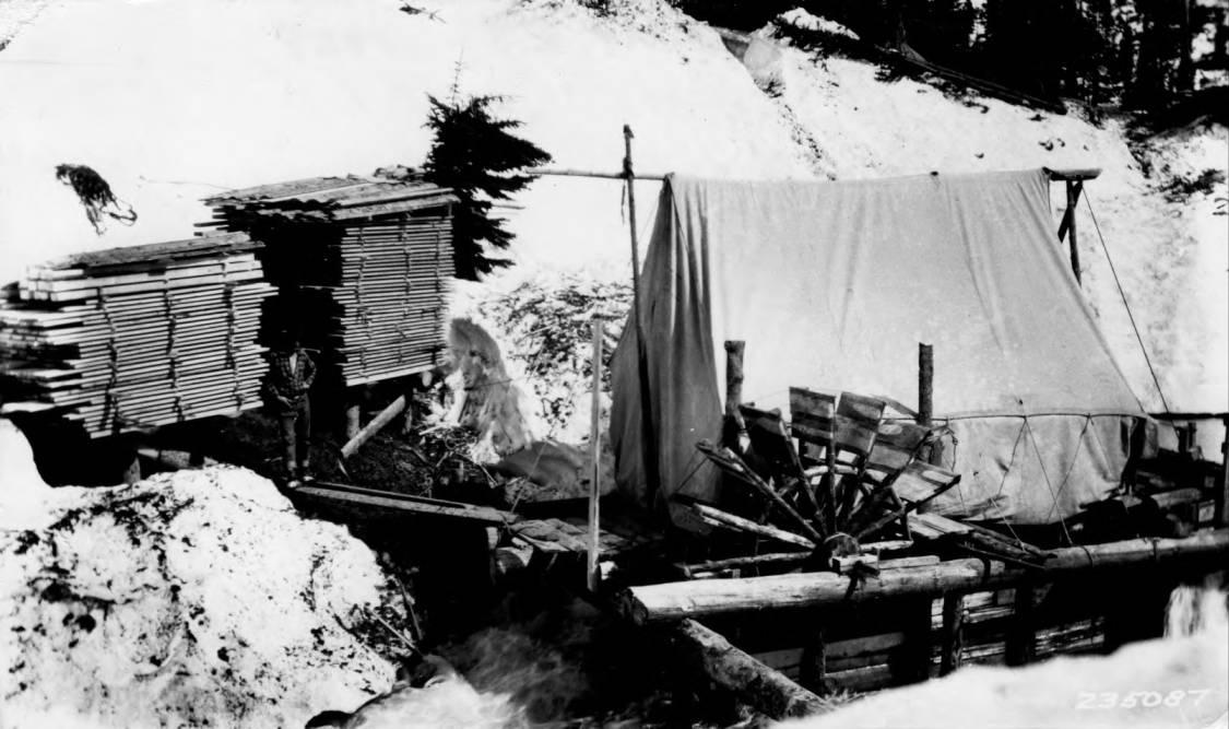 item thumbnail for Sawmill at Elk Summit Ranger Station