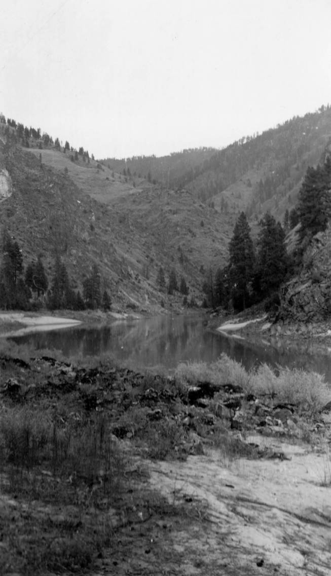 item thumbnail for Salmon River, 12 miles above Riggins
