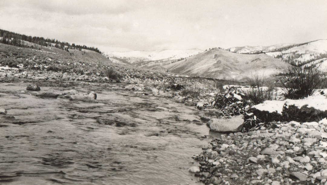 item thumbnail for Salmon River Diversion dam site and stream