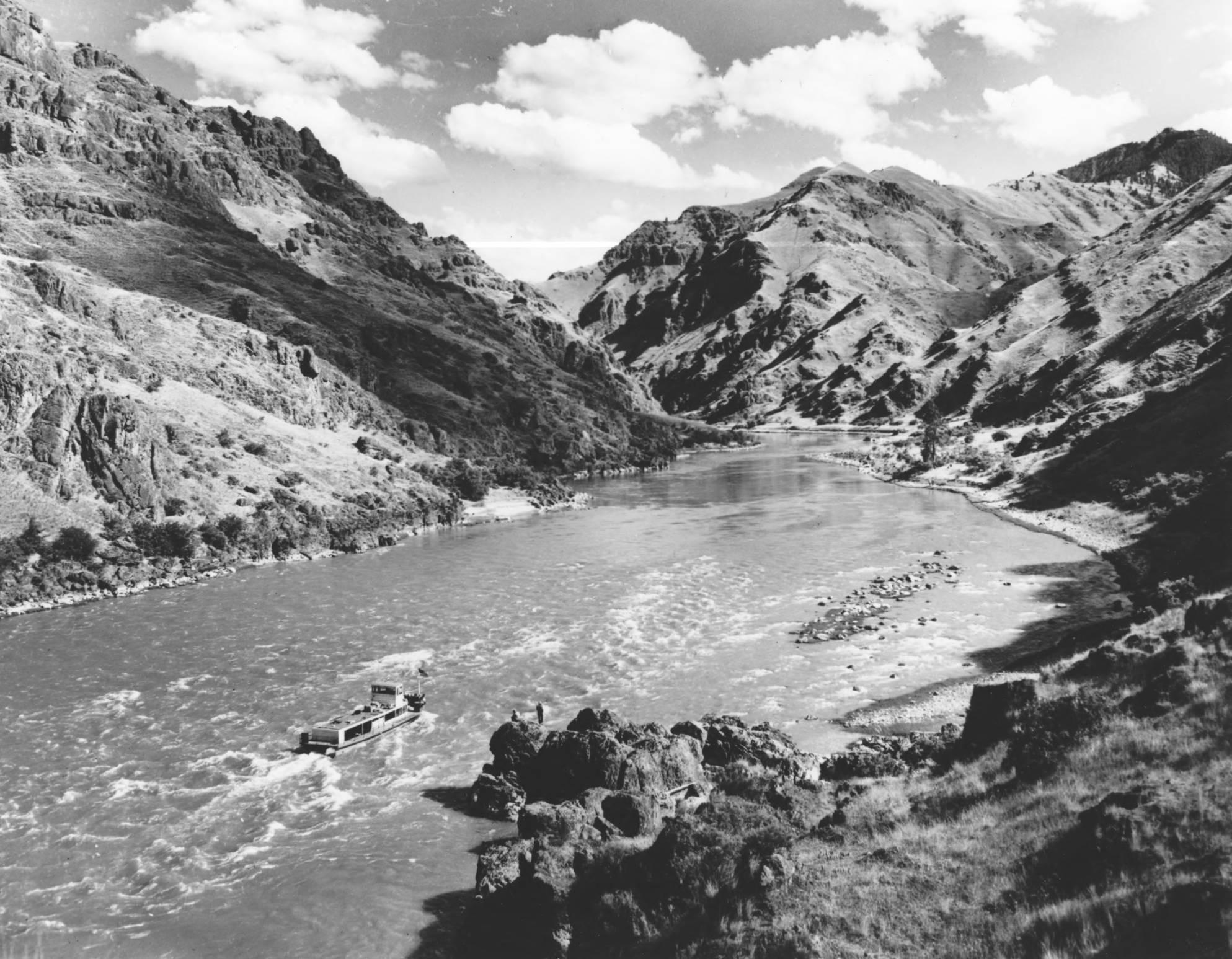 item thumbnail for Mail boat on Snake River