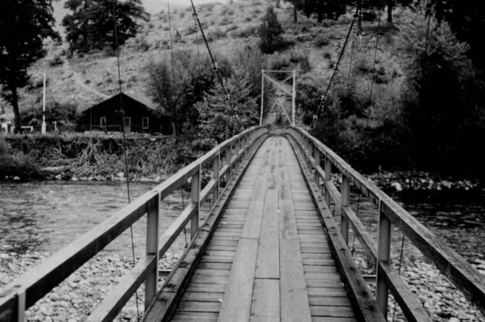 item thumbnail for Little Creek Bridge across Middle Fork of Salmon River
