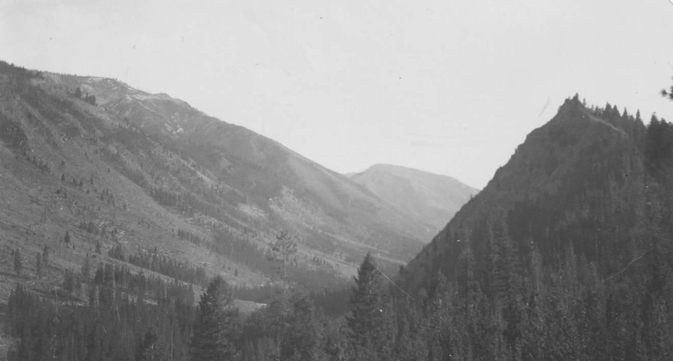 item thumbnail for Slopes at head of Big Creek