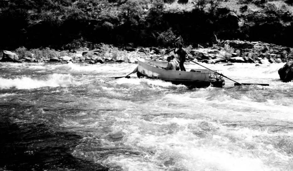 item thumbnail for Raft near Stoddard Bar, Middle Fork of Salmon River