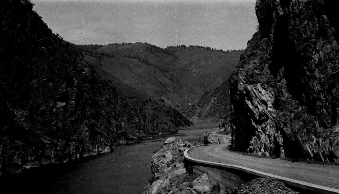 item thumbnail for North-south highway, Salmon River Canyon