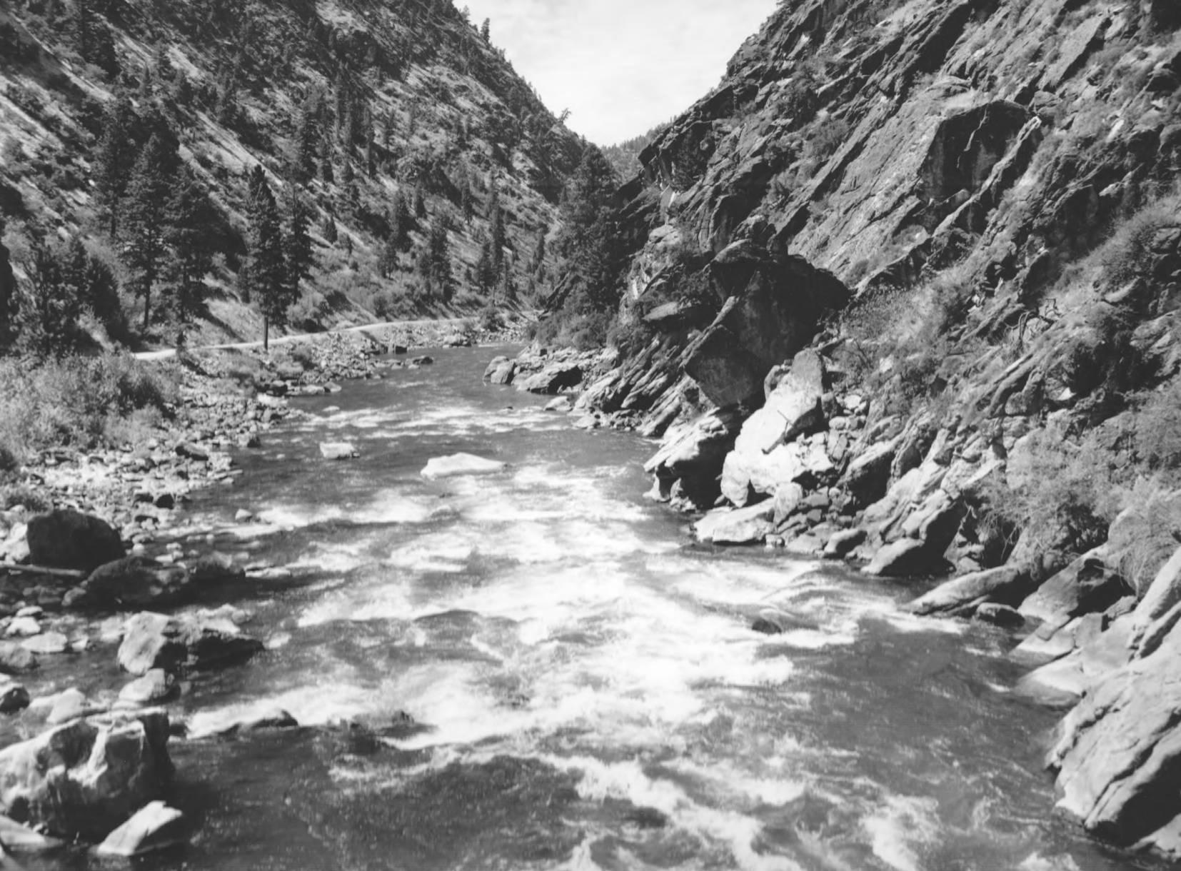 item thumbnail for Salmon River near Shoup, Idaho