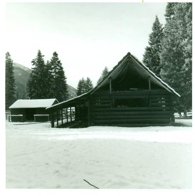 item thumbnail for Moose Creek Ranger Station, barn