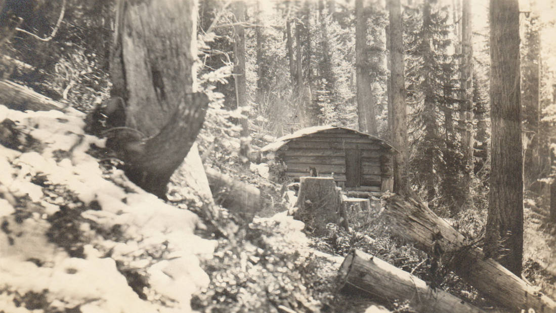 item thumbnail for Spencer homestead and cabin, possible false homestead claim, Marble Creek