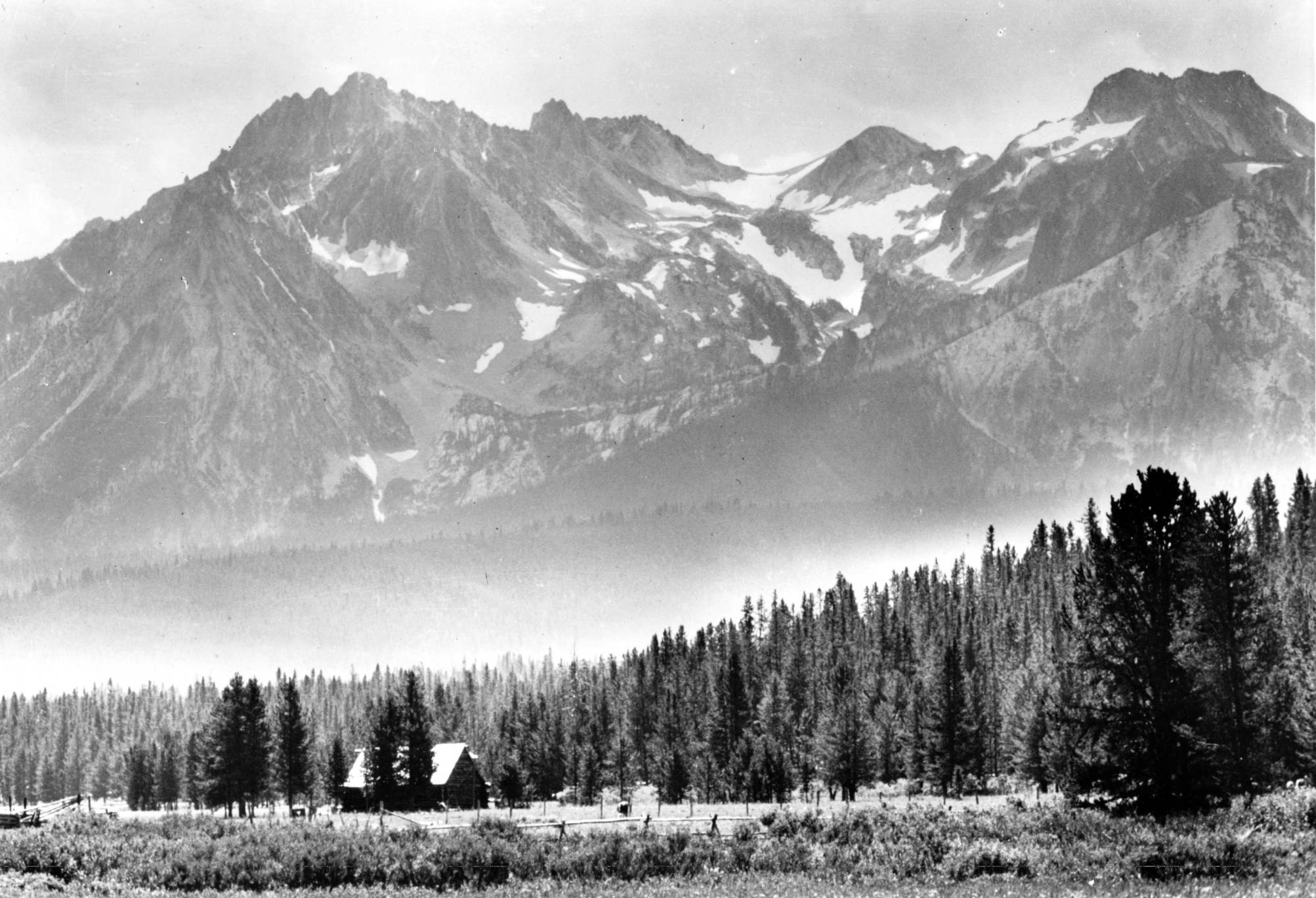 item thumbnail for Stanley Basin, Mount Thompson in the background