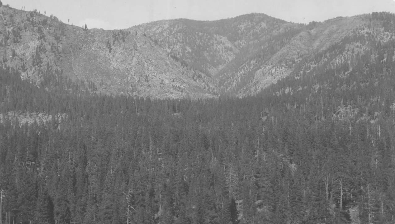 item thumbnail for Yellow Pine basin, slopes