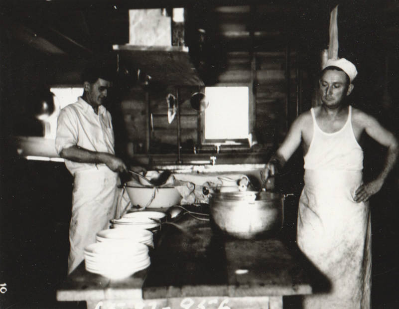 item thumbnail for Two cooks of Carey Camp, Little Wood River