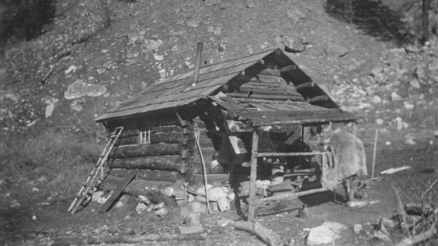 item thumbnail for Trapper's cabin, Salmon River