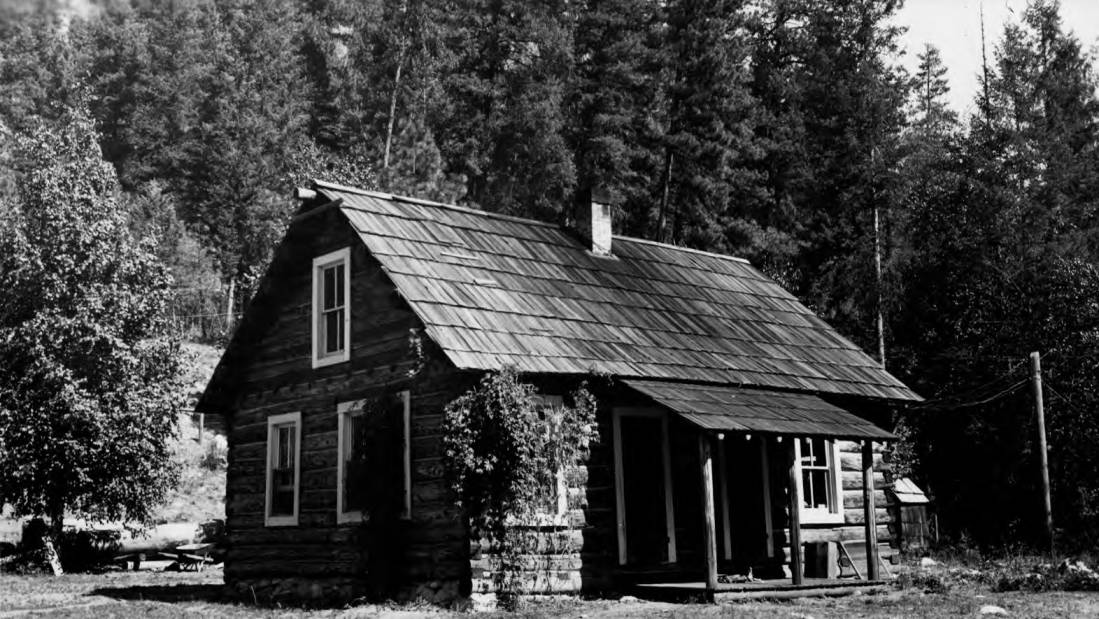 item thumbnail for Bear Creek Ranger Station, main building, Selway National Forest