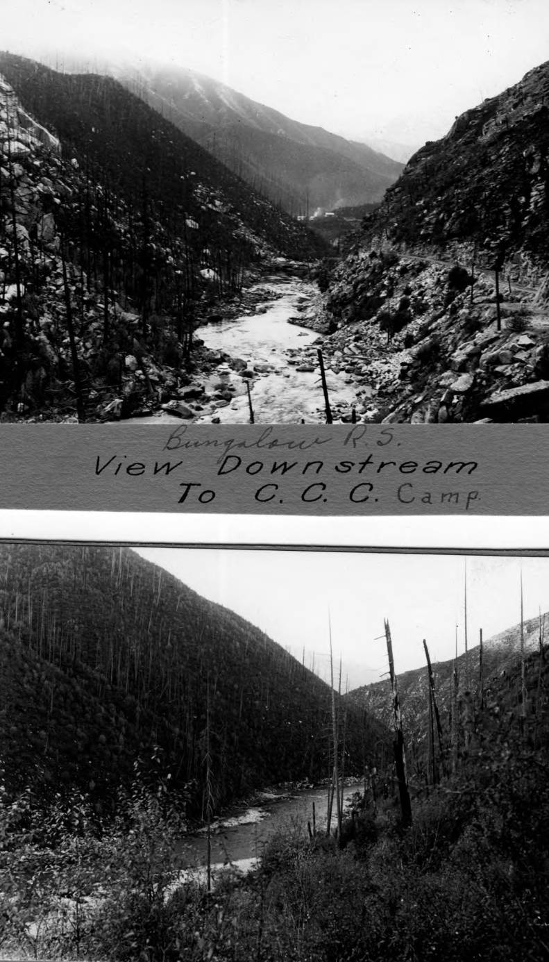 item thumbnail for CCC Camp from Bungalow Ranger Station, North Fork of Clearwater River
